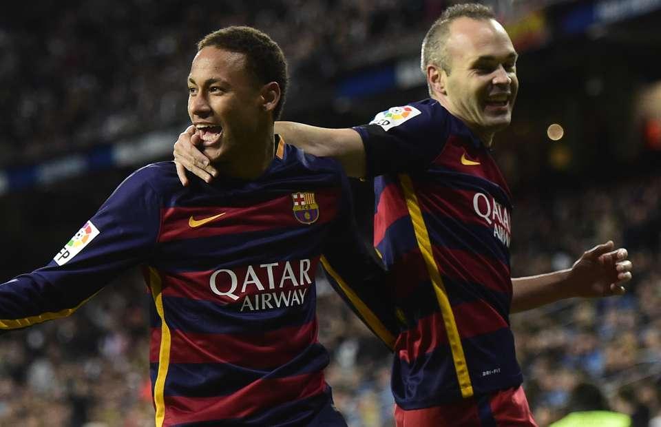 Neymar Bergabung Dengan Real Madrid Tidak Akan Melukai Iniesta